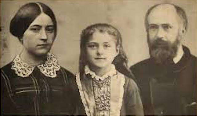 St Therese with her Parents 1