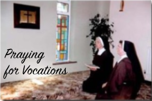 Prayingfor Vocations